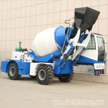 self loader concrete truck mixer